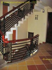 Hoi An<br>Hotel Thien Than<br>Escalier