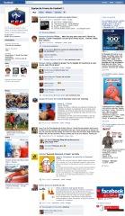 Les Bleus sur Facebook