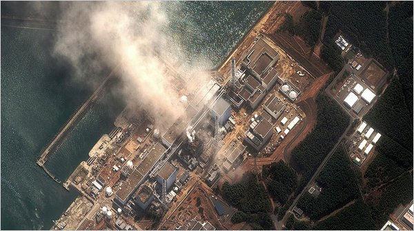 Fukushima vue du ciel
