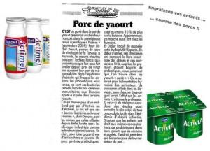 Danone et Probiotiques
