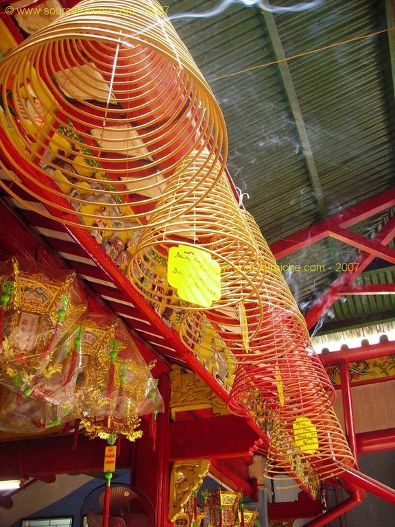 La pagode chinoise de Can Tho