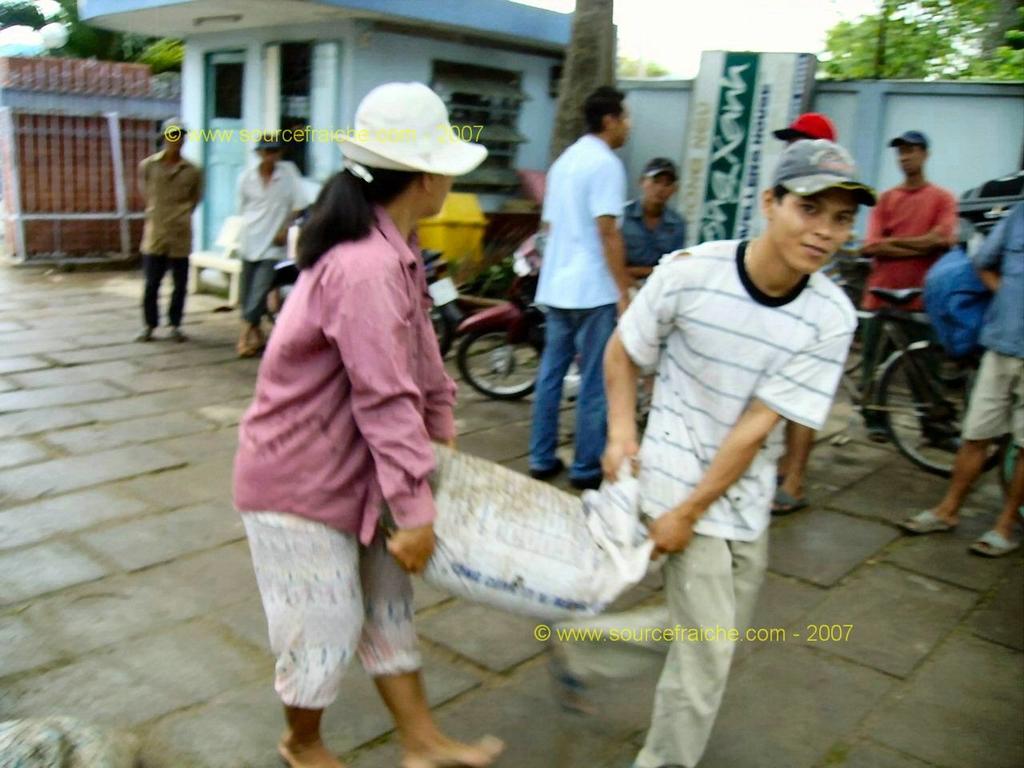 2007 – 5eme Jour – CHAU DOC – un matin de pluie